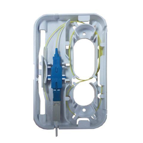 1 Fiber FTTH Fiber Outlet
