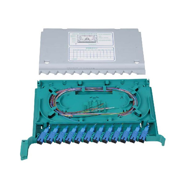 12 Fibers Splice and Distribution Integrated Tray