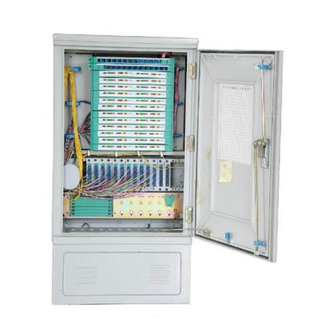 128 Fibers FTTH Splitter Cabinet with Insertion Module PLC Splitter