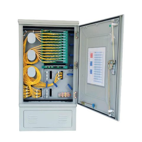 144 Fibers Outdoor SMC Optical Cross Connect Cabinet (OCC)