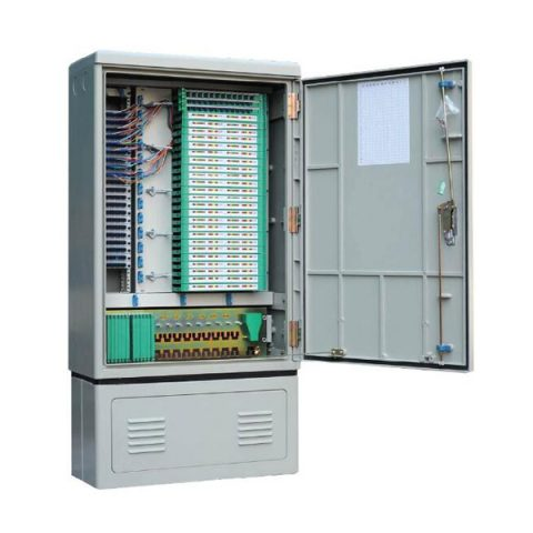 208 Fibers FTTH Splitter Cabinet with Insertion Module PLC Splitter
