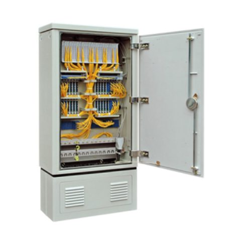 256 Fibers FTTH Splitter Cabinet with Insertion Module PLC Splitter