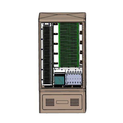 576 Fibers FTTH Splitter Cabinet PLC Splitter