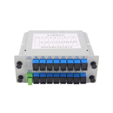 1×16 insertion module PLC splitter