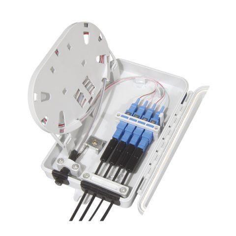 4 Fibers SC Optical Distribution Box