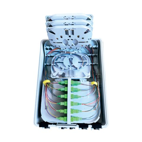 Fiber Optic Distribution Box - 24 Fibers