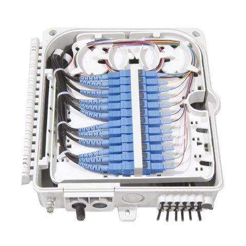 Fiber Optic Junction Box - 12 Fibers