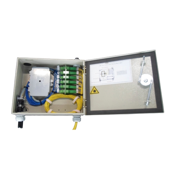 Indoor Fiber Optic Wall Mount Enclosure