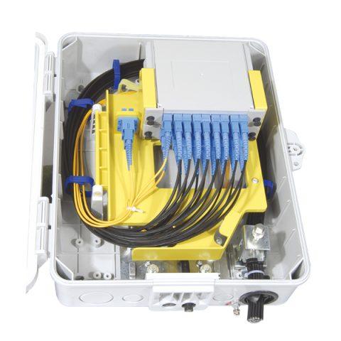 Optical Splitter Box with 1x8 1x16 splitter
