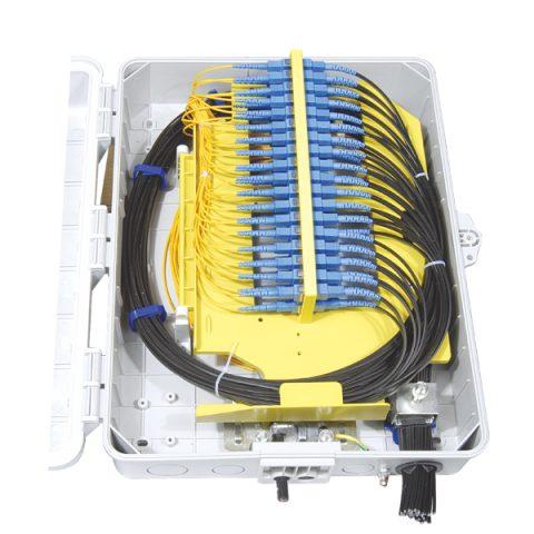Outdoor 48 Fibers Fiber Distribution Box