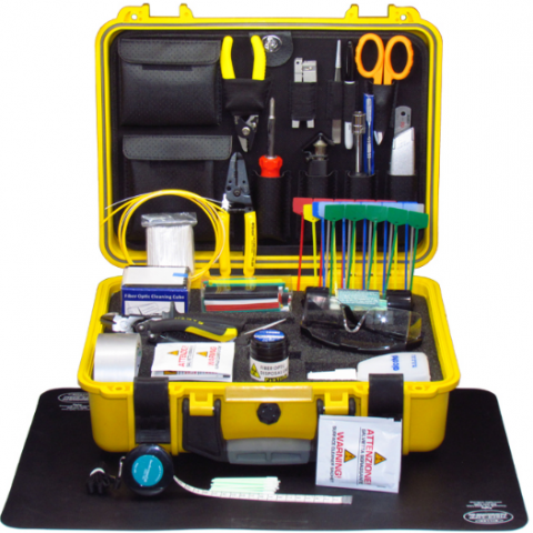 240 美金 LW-TK510 Basic Fiber Optic Splicing Tool Kit